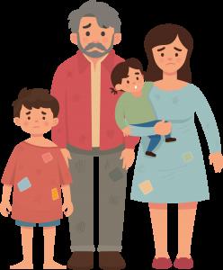 famiglia povertà energetica